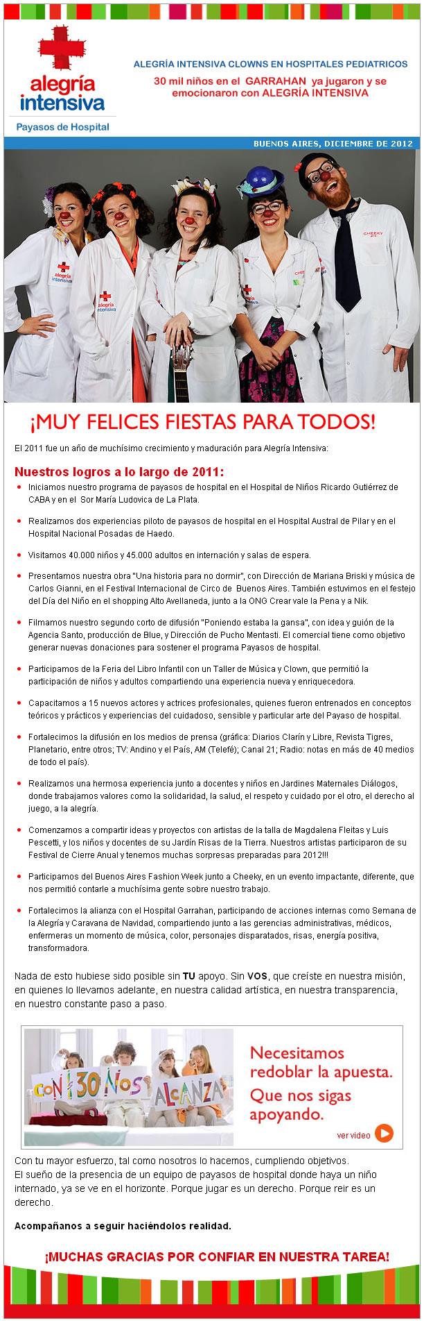 newsletter 12   Diciembre 2012