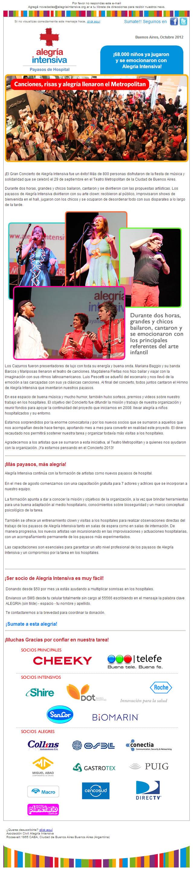 newsletterOctubre2012